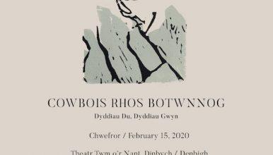 Cowbois Rhos Botwnnog promo poster